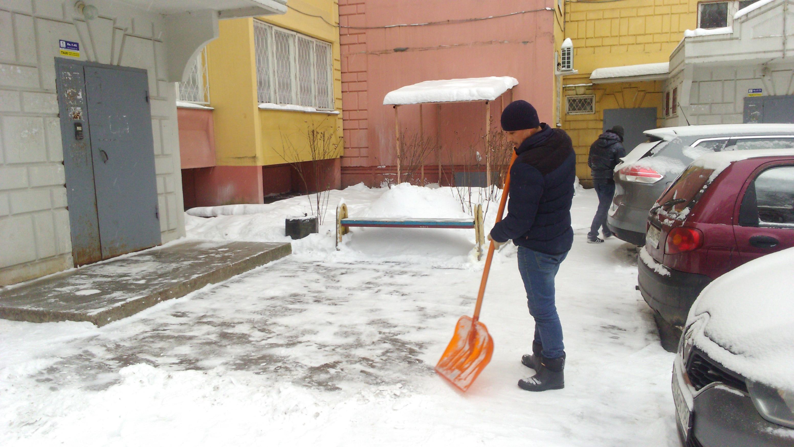 Договор подряда на уборку снега на физическое лицо